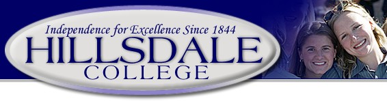 Hillsdale College, founded in 1844
