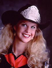 Kristy Mensik Miss Rodeo Montana 2001
