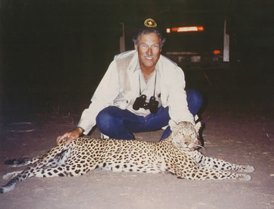 Tanzanian Leopard to Booking Agent PAge